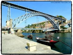The bridge connecting Porto and Gaia