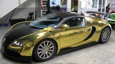 2012 Bugotti Veyron 16.4 in Gold?