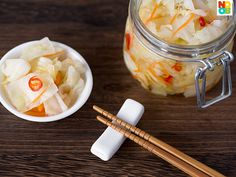15-minute recipe for Chinese-style pickled cabbage, an excellent appetizer and side dish to complement any meal.