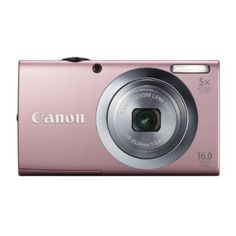 Canon PowerShot IS MP Digital Camera with Optical Image Stabilized Zoom Wide-Angle Lens with Full HD Video Recording and Touch Panel LCD (Pink) New Digital Camera, Digital Cameras, Optical Image, Full Hd Video, Canon Lens, Canon Cameras, Canon Powershot, Wide Angle Lens, Zoom Lens