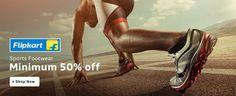 Sports Footwear Minimum 50% Off http://goosedeals.com/home/details/flipkart/98315.html