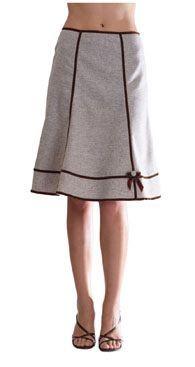 Resultado de imagen para falda semicircular de cuatro y seis piezas