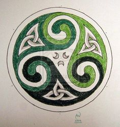 Triskele design