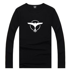 Pin 35 (Cont'd from Pin 34) Tiesto Eagle Symbol Print Men Long Sleeved T-shirt Casual Boys Street Black American Apparel Rebel Boys Clothing Cotton Spandex | Pinned Time:20151122 15:50 Taipei Time | #ConceptElement #Tiesto