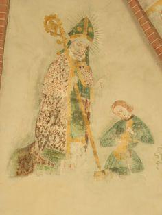 Kerk Noordbroek, figurale en ornamentale voorstellingen ca. 1500-1520.