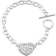 Mom Heart Of The Family Bracelet Sterling Silver from JCPenney. #jcpenney #MarketStreetFlo
