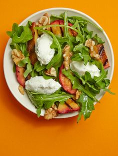 Walnuts and goat cheese add protein to this super summer salad.