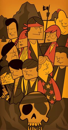 THE GOONIES Art Print by Ale Giorgini | Society6
