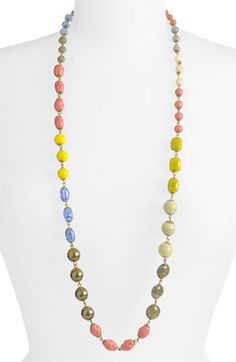 Stephan & Co. Vintage Bead Necklace