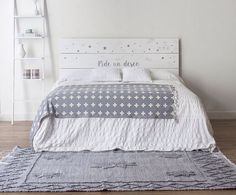 Pide un deseo cabecero Home Bedroom, Girls Bedroom, Bedroom Decor, Bedrooms, New Room, Girl Room, Diy Home Decor, Interior Design, Furniture