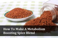 Homemade Metabolism Boosting Spice Blend