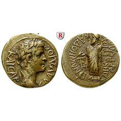 Römische Provinzialprägungen, Phrygien, Kadi, Claudius I., Bronze, ss+: Claudius I. 41-54. Bronze. Magistrat Demetrios Artema. Kopf… #coins