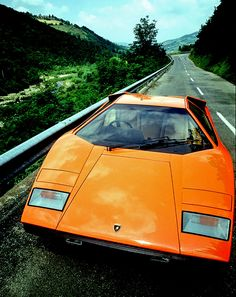 """Lamborghini Countach, the car that inspired all of the future generations of Lamboghini. It's the """"grandfather"""" of all the current Lambos."""