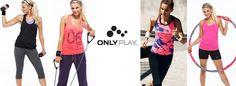 Ya nos han llegado las primeras prendas de Only Play, la nueva marca que hemos traído exclusivamente para vosotras. Ropa de mujer para practicar fitness y running con estilo. http://acuatrosport.com/marcas/_/ONLY+PLAY.html #fitness #running #gimnasio #mujer