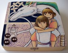 Spirited Away Wooden Box (Made to Order). $25.00, via Etsy.