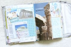 greek travel journal page 4