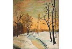 Winter Scene on OneKingsLane.com