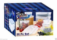 20 Piece LOCK & LOCK FOOD STORAGE CONTAINER SET #LockLock #Storage #Container