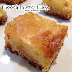 Cooking at Home: Gooey Butter Cake