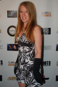 Javelyn at Pre-Grammy Event at Celebrity Center honoring diversity.