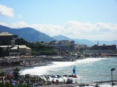 Beach in #Nice #France #Europe on our #roadtrip #travel