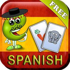 """""""Index Cards"""" con vocabulario básico en español."""
