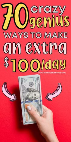 Are looking to make some extra money? Here are over 70 ways to that you can earn up to $100 per day in your free time. These genius side hustles are perfect for folks looking to make more money every month. Make More Money, Ways To Save Money, Extra Money, Work From Home Opportunities, Work From Home Jobs, Best Coupon Sites, Grocery Savings Tips, Teaching English Online, Money Saving Mom