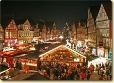 Celle, Germany - Christmas Market