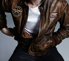 kit harrington, leather jacket, and army jacket image