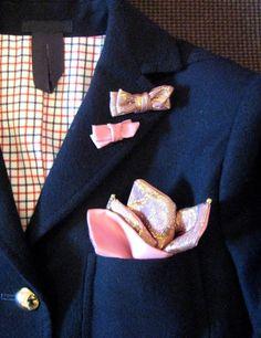 GAËLLEのポケットチーフ&ラペルピンのオーダーをお受けいたします。(*画像は、参考イメージです。実際の商品とは異なります。)パーソナルなポケット...|ハンドメイド、手作り、手仕事品の通販・販売・購入ならCreema。
