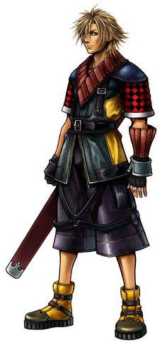 Artwork by Tetsuya Nomura. Final Fantasy X2