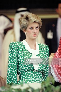 Diana, Princess of Wales, watches camel racing in Dubai during her. Princess Diana in Dubai Princess Diana Fashion, Princess Diana Pictures, Princess Anne, Princess Margaret, Royal Princess, Princess Of Wales, In Dubai, Lady Diana Spencer, Princess Diana Memorial Fountain