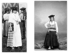19th c. photography of traditional costume