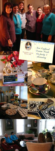 More Jane Austen-inspired tea party ideas.