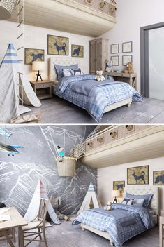 "Детская комната ""Мир приключений"" - Галерея 3ddd.ru"