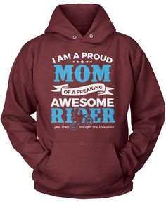 I am a proud Mom of a freaking awesome rider. The perfect t-shirt for any proud motocross Mom.Order here - https://diversethreads.com/products/proud-mom-of-an-awesome-motocross-rider?variant=9652287493
