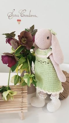 """Sara Creations - crocheted toys - """" Bunny family """" collection  Jucarii crosetate - colectia """" Bunny family """" Crocheted Toys, Bunny Toys, Dinosaur Stuffed Animal, Cute, Blog, Animals, Collection, Embroidery, Crochet Toys"""
