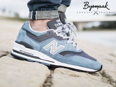 New Balance 997 CSP Age of Exploration - Light Blue - 2016 (by @bijsmaak)  Buy at: New Balance UK / Allike / The Good Will Out / Overkill / Foot District / End Clothing / Find more shops