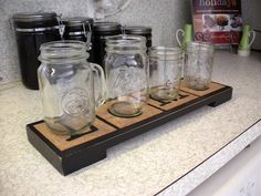 Tired of washing a million cups? Try this tip from Spying on the Swinneys. Make a coaster tray and assign a coaster to each family member. When they are done with their drink they set in on the coaster until they need it again.