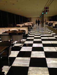 Armani Hotel, Milan, Italy Cafe Restaurant, Restaurant Design, Armani Hotel Milan, Contemporary Architecture, Interior Architecture, Dinning Room Bar, Hotel Lobby Design, Public Hotel, Lobby Interior