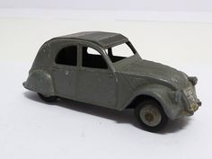 FRENCH DINKY TOYS CITROEN 2CV, GREY, ONE TAILLIGHT VERSION