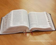 Scripture stories in chronological order