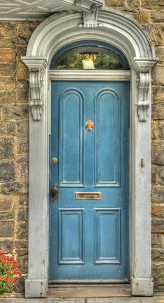 Blue Door Photograph by Lisa Hurylovich Cool Doors, Unique Doors, Portal, Front Door Colors, Front Door Decor, Front Doors, Entrance Doors, Doorway, Porches