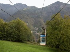 Discover Cable-car Verdasio-Rasa in Ticino, the Mediterranean soul of Switzerland. Small moments, a great experience. Small Moments, Mountain Hiking, Campsite, Switzerland, Terrace, Fill, Cable, Bucket, In This Moment