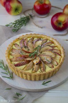 Apfel-Rosmarin-Tarte