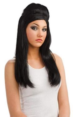 Infused with guidette culture this Snooki wig will complete your Jersey Shore costume. One Snooki wig SKU: Costume Wigs, Costume Makeup, Snooki Hair, Halloween Costume Accessories, Halloween Costumes, Costumes For Women, Adult Costumes, Synthetic Hair, Human Hair Wigs