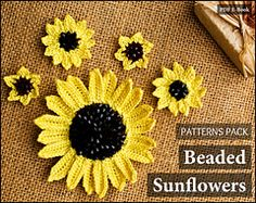 Ravelry: Beaded Sunflowers Pack