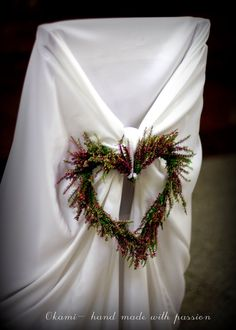 Heather wedding / Church decorations Church Wedding Decorations, Wedding Church, Christmas Wreaths, Wedding Flowers, Wedding Inspiration, Weeding, Holiday Decor, Brides, Handmade