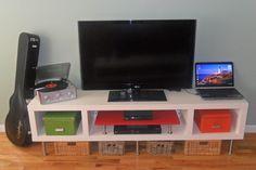 This Lack (Shelving) TV unit doesn't LACK Creativity! - IKEA Hackers - IKEA Hackers