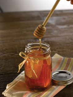 Sweet, Kentucky Proud honey. My grandfather raised honeybees for years so honey always holds special memories for me.